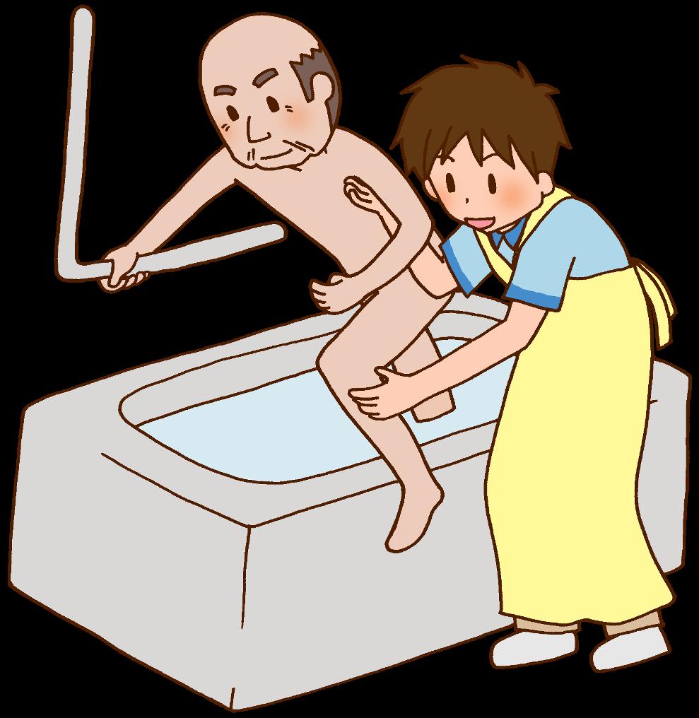 通所介護の介護職員のイメージ