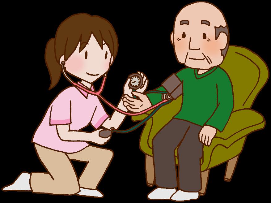 通所介護の看護師・准看護師のイメージ
