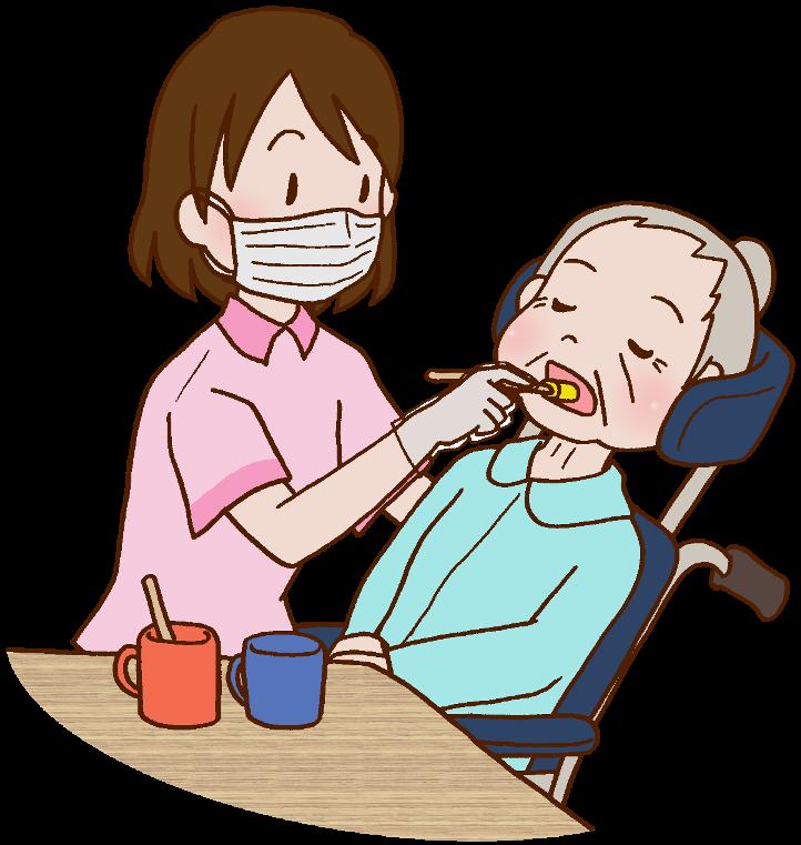 特養の介護職員のイメージ