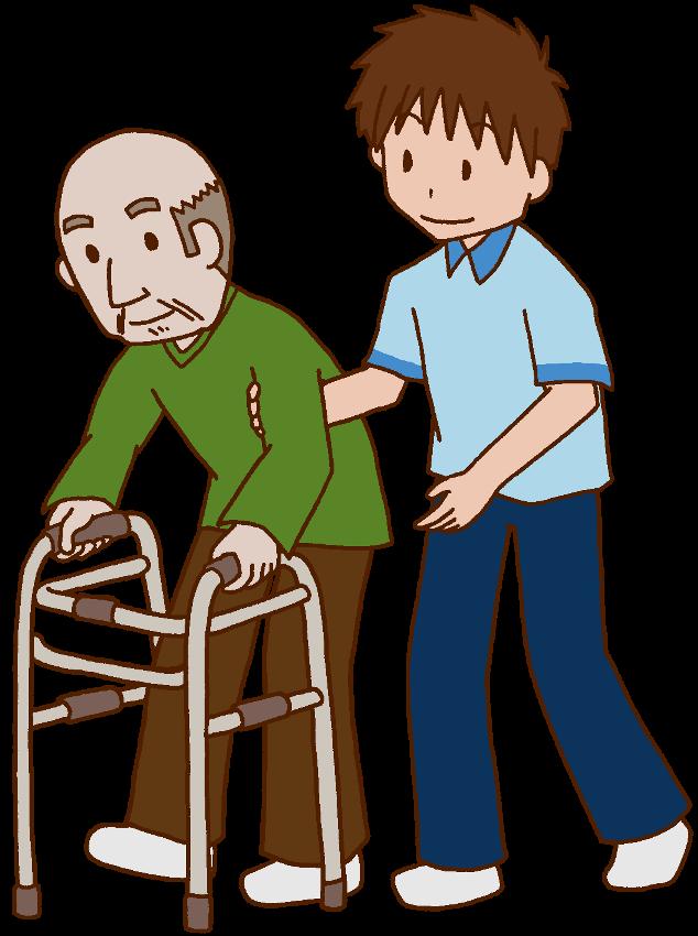 通所介護の機能訓練指導員のイメージ